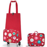 Сумка на колесиках Foldabletrolley funky dots 2, Reisenthel