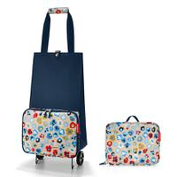 Сумка на колесиках foldabletrolley millefleurs, Reisenthel